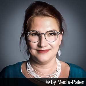 Sprecherin Almut Zydra